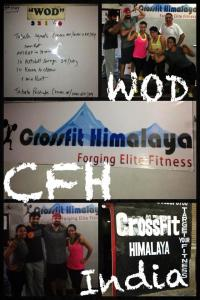 These CrossFiters visited us last week, They really like our gym and enjoy WOD with CFH crews.