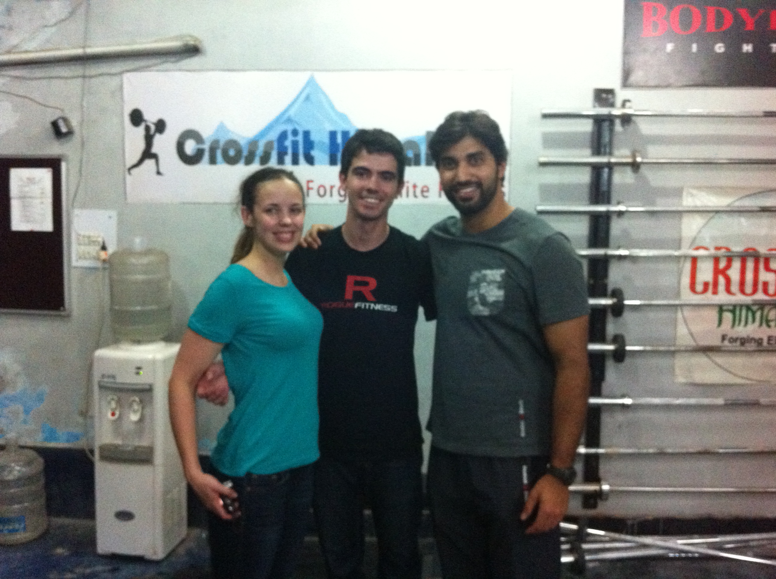 CrossFit Zone crew from Canada