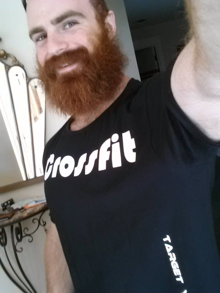 Lucas Parker CrossFit Games competitor supporting CrossFit Himalaya shirt.  We wish him success in upcoming CrossFit Games 2013.