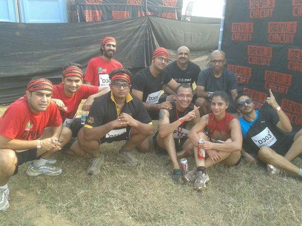 Team CFH at DC - Mud-run