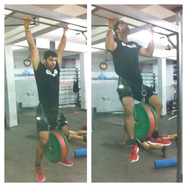Coach Piyush Pandey _ weighted pull ups
