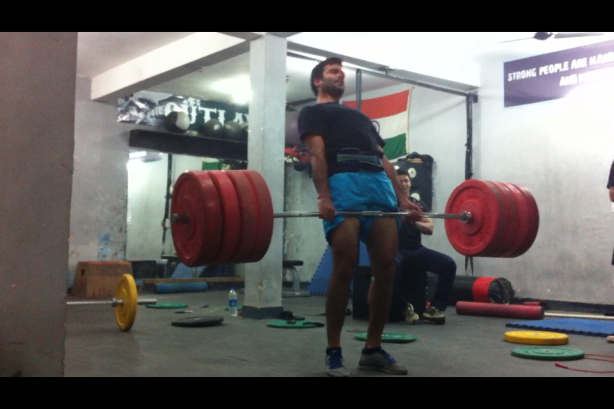 Mr Z and his 405 Deadlift